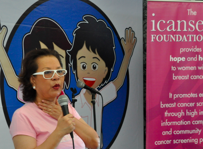 Bibeth Orteza shares her story of hope