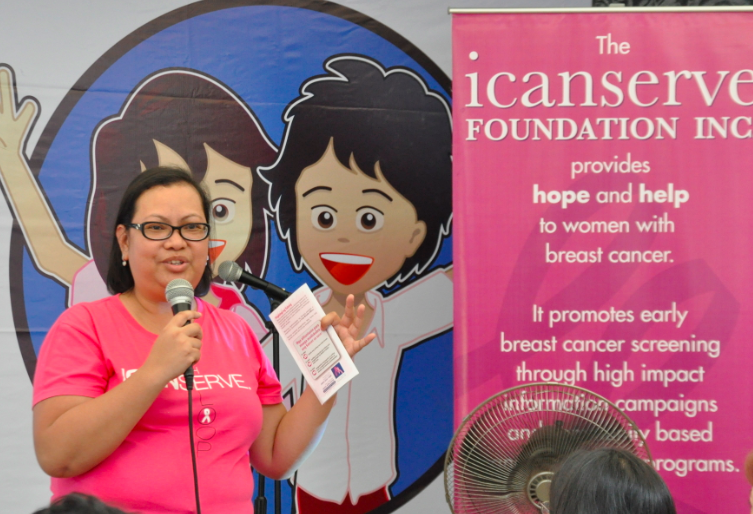 Dr. Cecile Montales shares basic breast cancer info