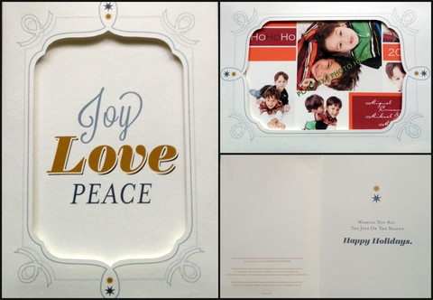 ICANSERVE Christmas Photo Card, PhP 150 each (insert a 5x7 photograph)