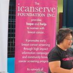 Dr. Honey Abarquez, oncologist, volunteers for ICanServe Foundation
