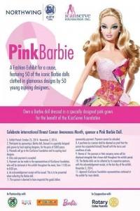 Barbie in Pink Designer Gown