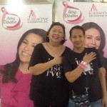 ICanServe volunteers Pamsy Tioseco and Fe Ea. Pamsy is a member of the ICanServe board and is a breast cancer survivor.