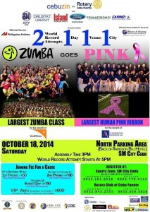 zumba pink ribbon_cebu