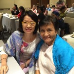ICANSERVE volunteers Leny Gonzales and Doris Nuval