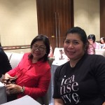 ICANSERVE volunteers Veck Arjona, Mel Aguasin and Rockie Catignas