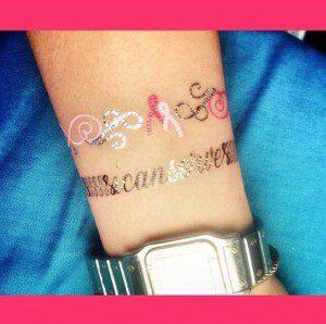 temp awareness tattoo