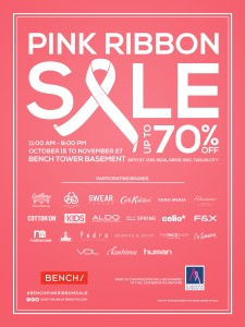 Bench_PINK RIBBON SALE 2015 FA