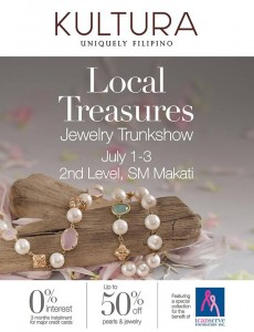 kultura local treasures trunkshow 1-3 jul 2016