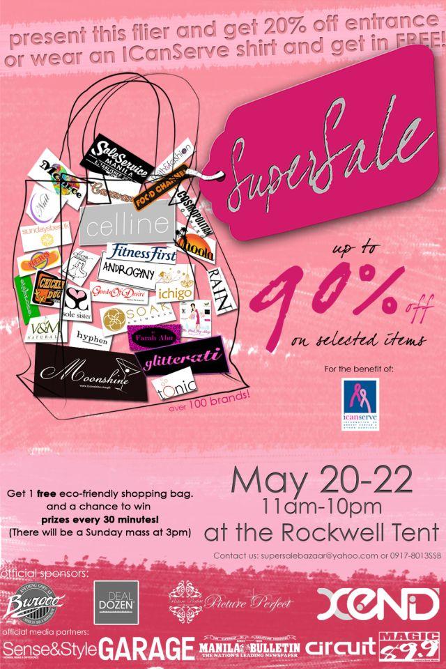 Supersale Bazaar-May 20 to 22, 2011