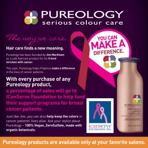 Pureology Cancer Care Announcer for Online